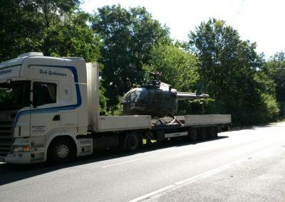 Entmilitarisierter Helikopter